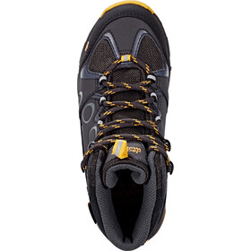 Jack Wolfskin MTN Attack 2 Texapore Hiking Shoes Mid Cut Kids burly yellow